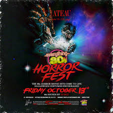 friday the 13th everything 80s horror fest tickets chateau