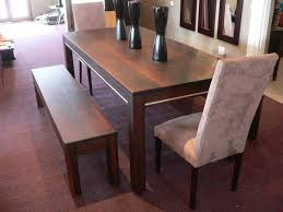 solid dining table contemporary interior design