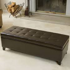 costco fulham bonded leather storage ottoman home stuff