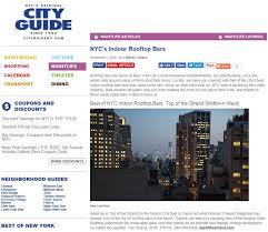 Hop On Hop Off Map New York by Top Of The Strand