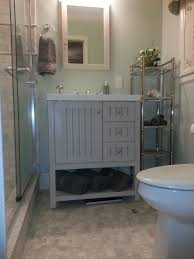 Painting A Bathroom Vanity Before And After by Decor You Adore Wow Before And After A Tiny Bathroom Lives Large