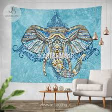 White Elephant Head Wall Mount Elephant Wall Decor Shenra Com