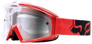 fox dirt bike boots fox racing main 180 race goggles cycle gear