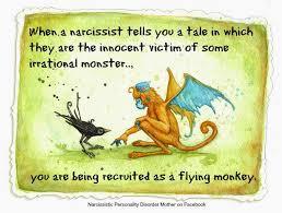 Flying Monkeys Meme - narcissists the flying monkeys modernbellatrix