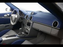 porsche boxster interior 2006 techart widebody based on porsche boxster interior