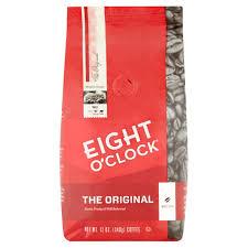 eight o u0027clock the original whole bean coffee 36 oz bag walmart com