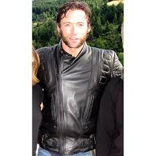 best mens leather motorcycle jacket x men motorcycle leather jacket hugh jackman wolverine jacket