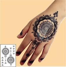 aliexpress com buy bh 12 1 piece black henna temporary tattoo