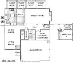pulte homes floor plan archive home plan pulte homes floor plan