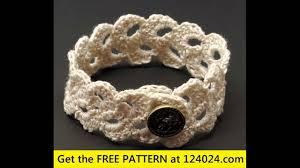 bracelet patterns free images Easy crochet bracelet free patterns jpg
