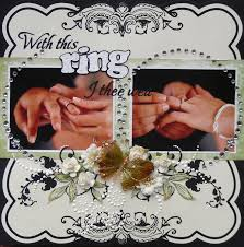 with this ring i thee wed with this ring i thee wed scrapbook books worth reading