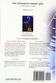 the innovation master plan the ceo u0027s guide to innovation langdon