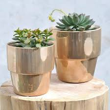 ikea planters planters copper plant pots stone planter duo flower uk sydney