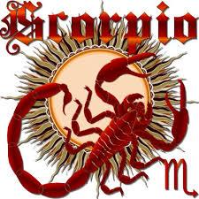 zodiac scorpio design 1 view below hints sticker