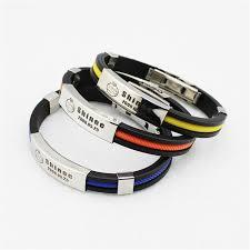 titanium steel bracelet images Wholesale kpop fan shinee world team logo sport silicone titanium jpg