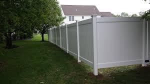 vinyl fence corner lot poly enterprises