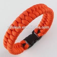 paracord rope bracelet images Orange parachute rope bracelet fishtail weave paracord survival jpg