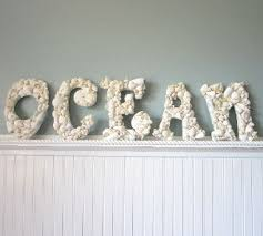Pinterest Beach Decor 56 Best Monogram Made Out Seashells Images On Pinterest