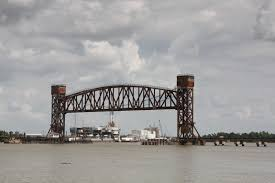 bridgehunter com bnsf atchafalaya river lift bridge