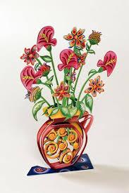 3d Flower Vase Spiral Vase 3d Metal Artwork Of Flower Vase U2013 Joy Art Gallery