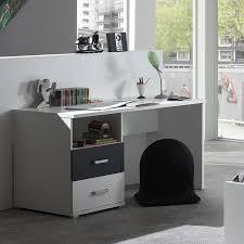 bureau enfant moderne bureau d enfant blanc et gris