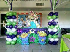 Buzz Lightyear Centerpieces by Buzz Light Year Air Walker Balloons Party Decorations