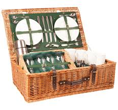 picnic basket for 4 2 or 4 person luxury picnic the highlander from amberley