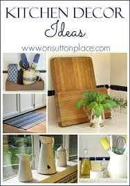 diy kitchen wall ideas kitchen decor ideas on sutton place