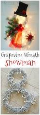 lighted grapevine snowman wreath snowman wreath snowman and wreaths