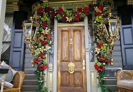 best christmas home decorations 50 best christmas door decorations for 2018