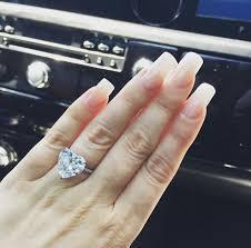 heart shaped engagement ring gaga s 6 carat heart shaped diamond ring