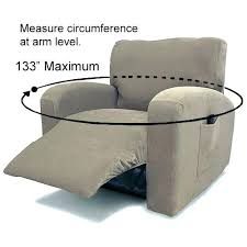slipcover for recliner chair slip covers for recliners fancy suede