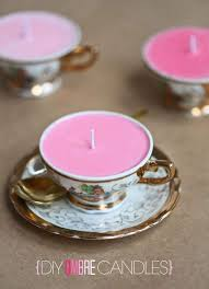 tea cup candle how to make teacup candles 20 tutorials guide patterns