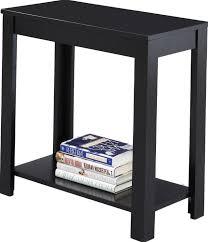 small end tables living room narrow end table black applying