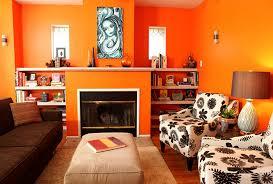 Orange Living Room Ideas - Orange living room design