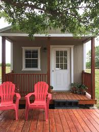 studio style electric ready plumbing ready tiny house outdoor