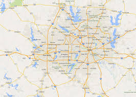 Dallas On Map by Map Of Dallas State Map Of Usa United States Maps