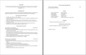 Construction Resume Examples by Construction Equipment Operator Resume Sample Two Pages