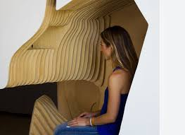 oyler wu u0027s interactive headspace pods give you a cozy space to