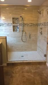 master bathroom tile ideas photos our new large master bath shower window and bench are to the left