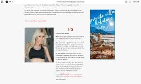courtney bentley media kit fitness personality and motivational