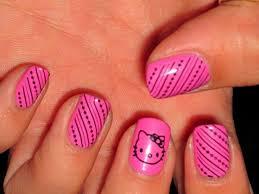 139 best hello kitty nails images on pinterest hello kitty nails