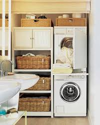 Shelving Ideas For Small Bathrooms by 12 Essential Laundry Room Organizing Ideas Martha Stewart
