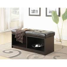 Coffee Table Ottomans With Storage by Coffee Table 2017 Popular Brown Leather Ottoman Coffee Tables