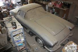 corvette project for sale 61 corvette barn find project car up for sale on ebay corvette