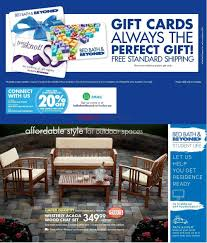 bed bath u0026 beyond april catalogue