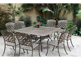 Darlee Patio by Darlee Outdoor Living Series 60 Cast Aluminum 60 Square Dining