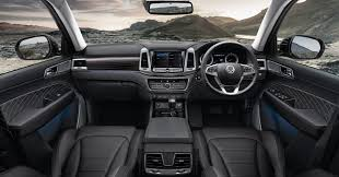 ssangyong korando 2013 ssangyong rexton suv review parkers