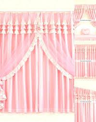 light pink ruffle curtains pink ruffle shower curtain pink ruffle curtains pink ruffle curtains