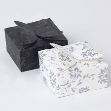 wedding gift boxes uk black white wedding favour boxes pack of 6 only 99p